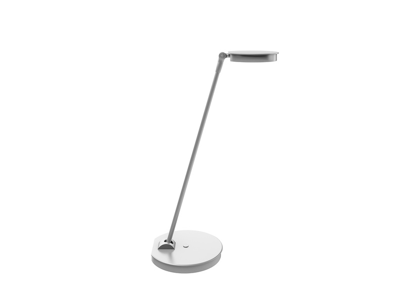 Lily LED desk lamp silver