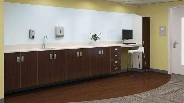 ofs carolina mile marker modular healthcare alan desk 14