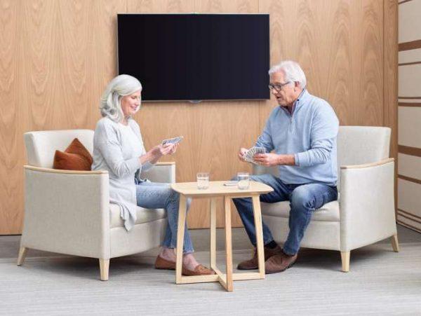 ofs carolina modern amenity lounge healthcare alan desk 10