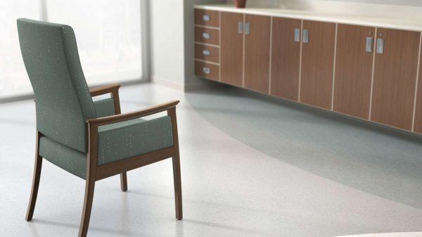 ofs carolina modern amenity patient seating healthcare alan desk 4