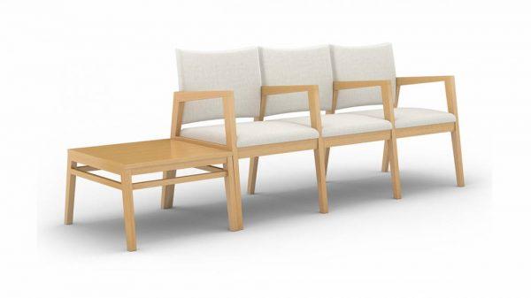 ofs carolina rein multiple guest seating healthcare alan desk 1