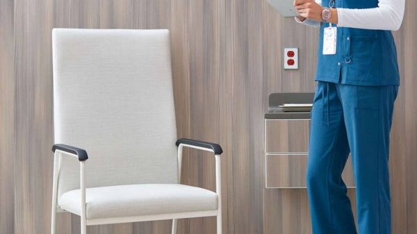 ofs carolina rule of three patient seating healthcare alan desk 2
