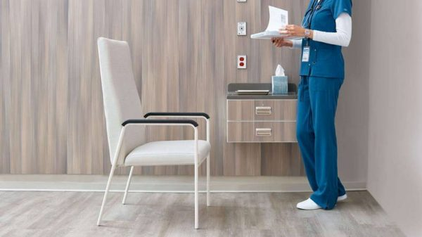 ofs carolina rule of three patient seating healthcare alan desk 3