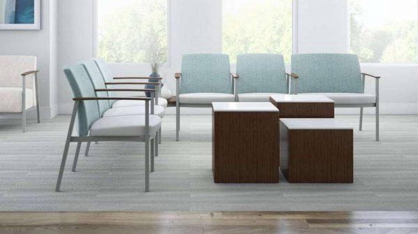 ofs carolina serony multiple guest seating healthcare alan desk 2