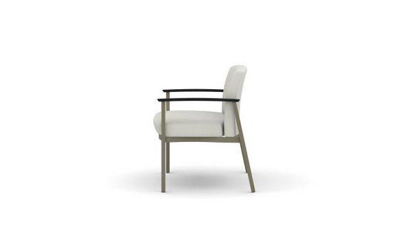 ofs carolina silver ion metal bariatric seating healthcare alan desk 2