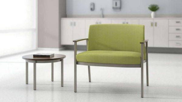 ofs carolina silver ion metal bariatric seating healthcare alan desk 3