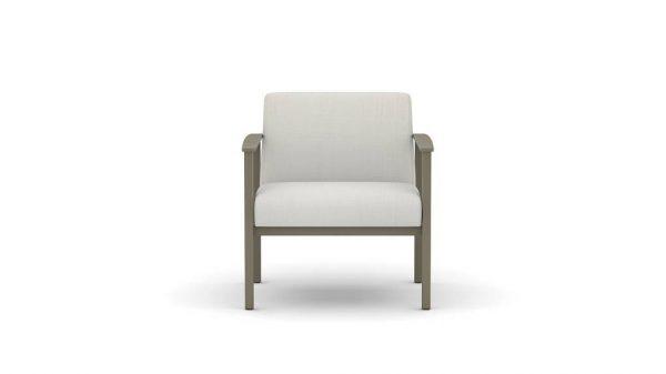 OFS Carolina Silvr Ion Metal Lounge Seating Healthcare Alan Desk