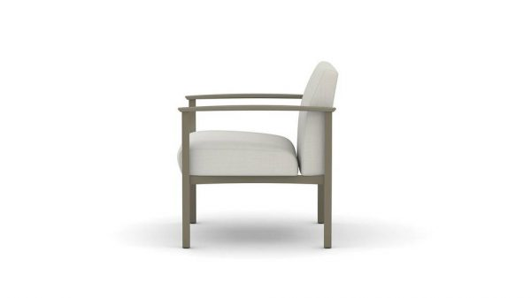 ofs carolina silver ion metal lounge seating alan desk 2