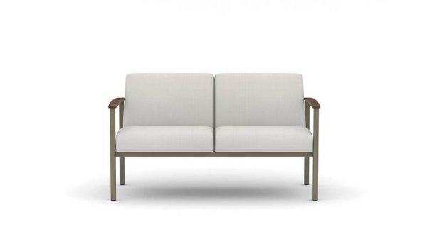 ofs carolina silver ion metal lounge seating alan desk 3