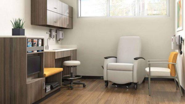 ofs carolina silver ion metal multiple guest seating healthcare alan desk 5
