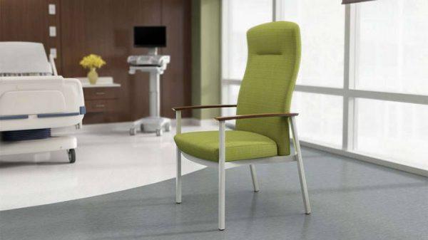 ofs carolina silver ion metal patient seating healthcare alan desk 1