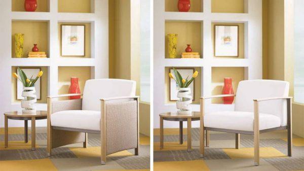 ofs carolina silver ion wood lounge seating healthcare alan desk 5