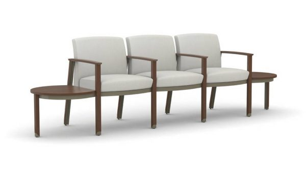 OFS Carolina Silvr Ion Wood Multiple and Guest Seating Healthcare Alan Desk
