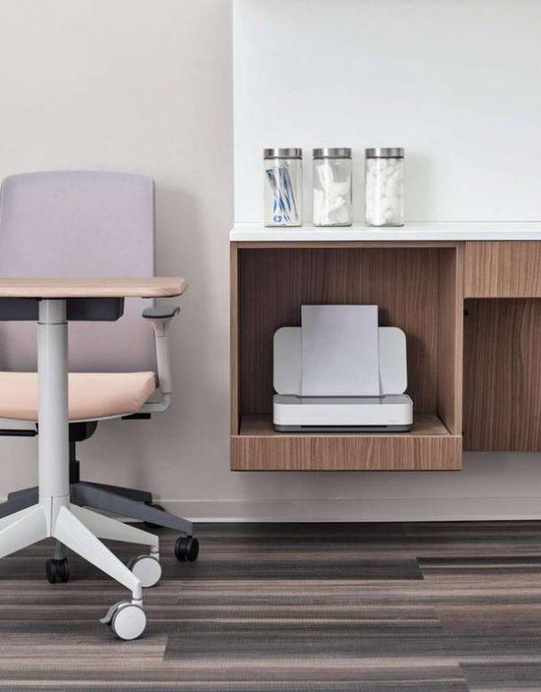 ofs carolina stray mobile table tray healthcare alan desk 1