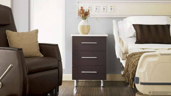 ofs carolina theatre patient room furniture healthcare alan desk