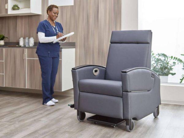 ofs carolina voyage recliner healthcare alan desk 4