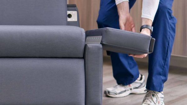 ofs carolina voyage recliner healthcare alan desk 9