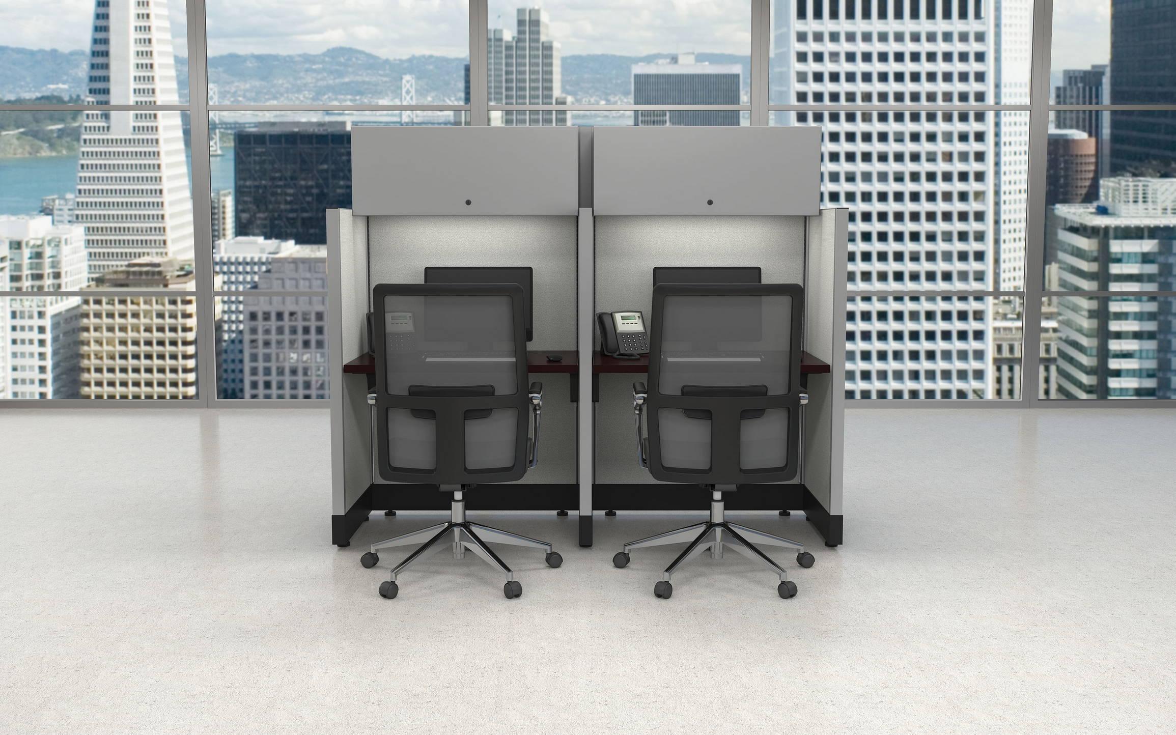 SIS Panel System Alan Desk-