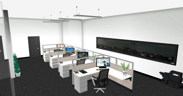 sis panel system alan desk 2