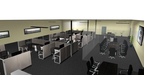 sis panel system alan desk 5