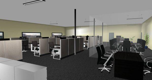 sis panel system alan desk 6