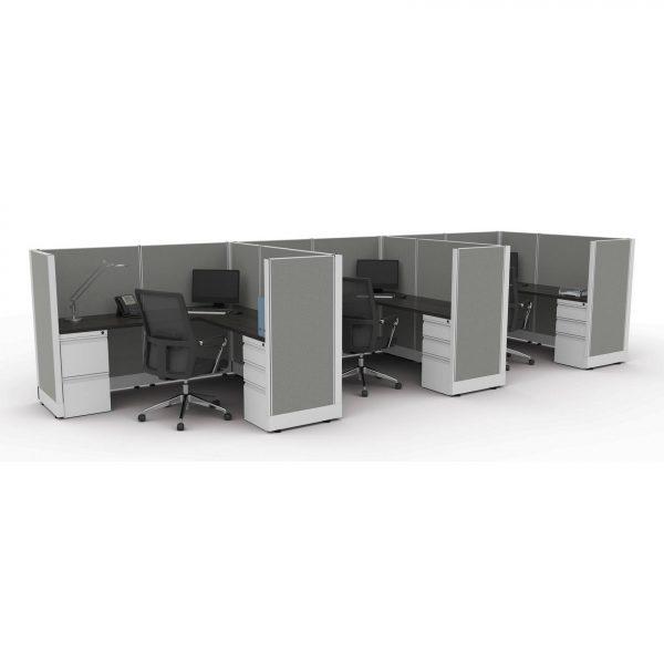 sis panel system alan desk 8