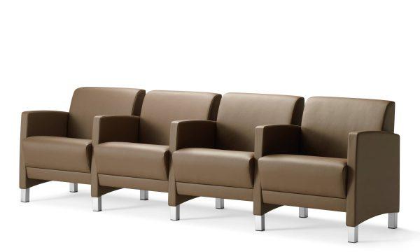 Source International Vee Lounge Seating Healthcare Alan Desk