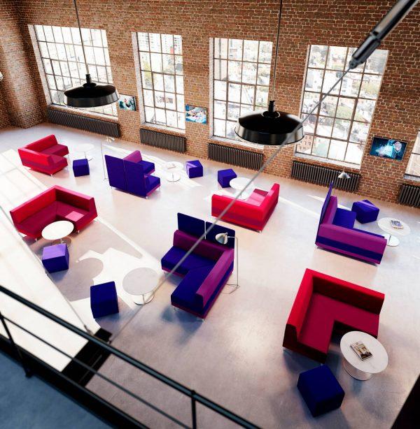 stylex share modular lounge seating healthcare alan desk 6