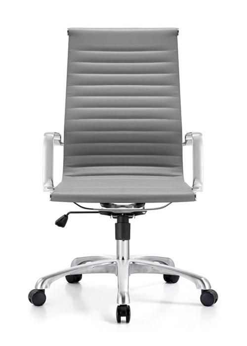 classic hi back chair conference weoodstock alan desk 10  <ul> <li>available black, off-white, and gray</li> <li>eco leather seating surfaces</li> <li>high polished triple plated chrome frame</li> <li>hand polished aluminum base</li> <li>oversized 60mm casters</li> <li>adjustable tilt tension</li> <li>tilt lock</li> <li>pneumatic gas height adjustment</li> <li>generous dimensions</li> <li>rated for 250 pounds</li> <li>available with and without arms</li> </ul>