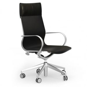 iDesk Curva Hi-Back Chair Alan Desk