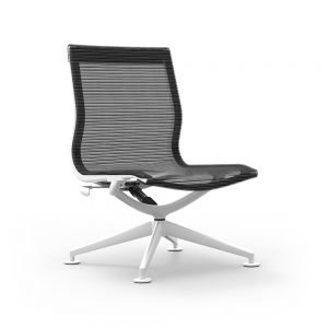 iDesk Curva Lounge Chair Mid Back Alan Desk