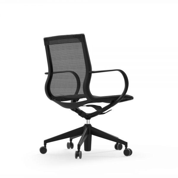 curva mid back nylon chair idesk alan desk 1