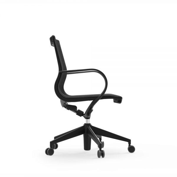 curva mid back nylon chair idesk alan desk 5