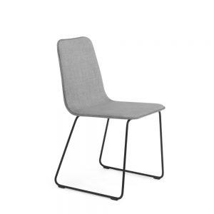 Nuans Design Lolli Side Sled Chair Alan Desk