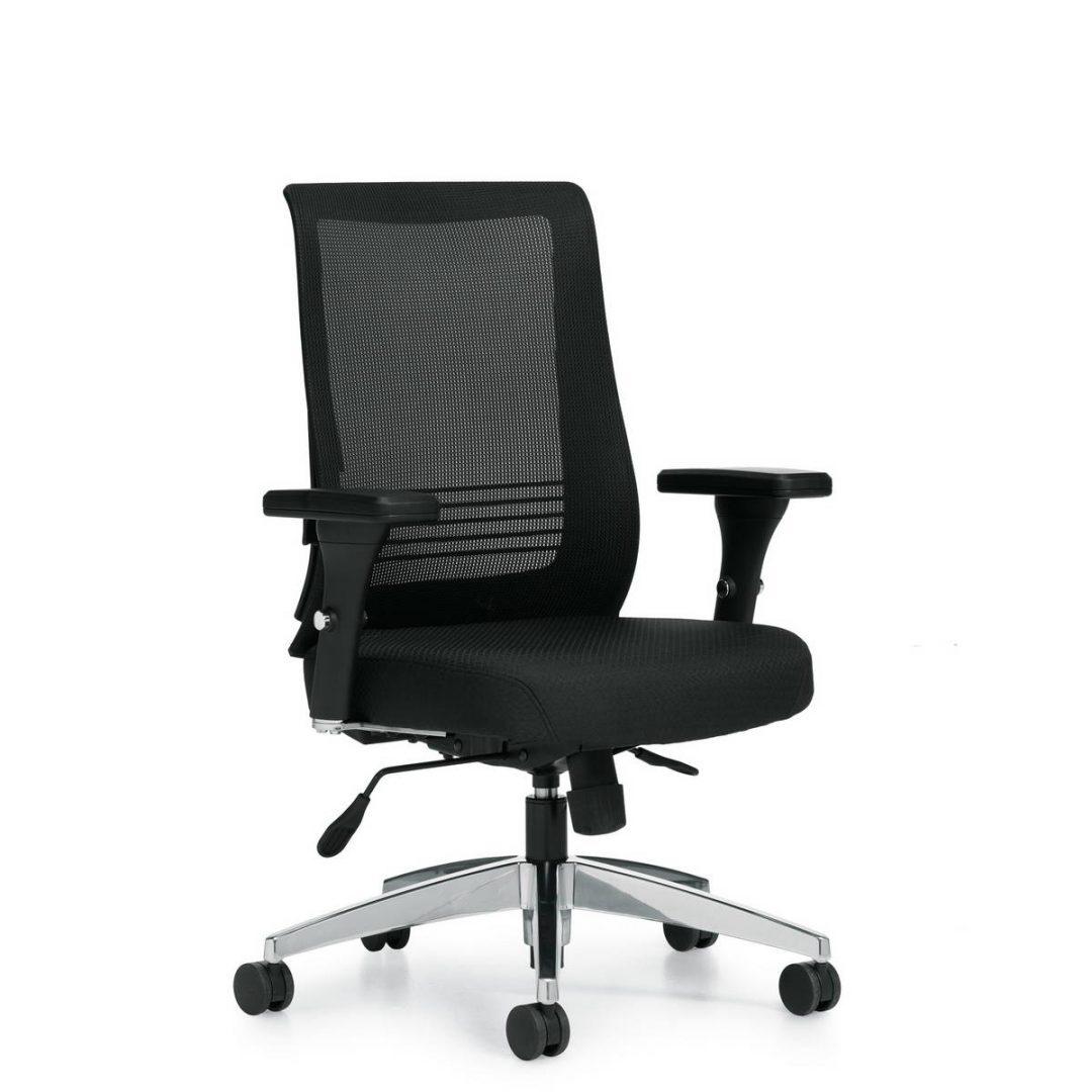 OTG OTG11325B Task Chair in Stock Alan Desk