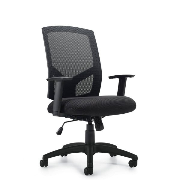OTG OTG11516B Task Chair in Stock Alan Desk