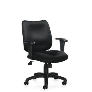OTG OTG11612B Task Chair in Stock Alan Desk