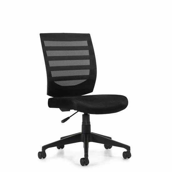 OTG OTG11922B Task Chair Armless in Stock Alan Desk