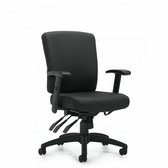 OTG OTG11950B Task Chair In Stock Alan Desk