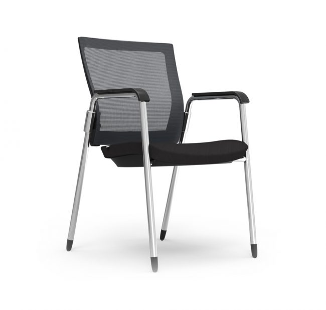 iDesk Oroblanco Guest Chair Alan Desk
