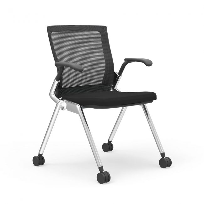 iDesk Oroblanco Training Chair Alan Desk