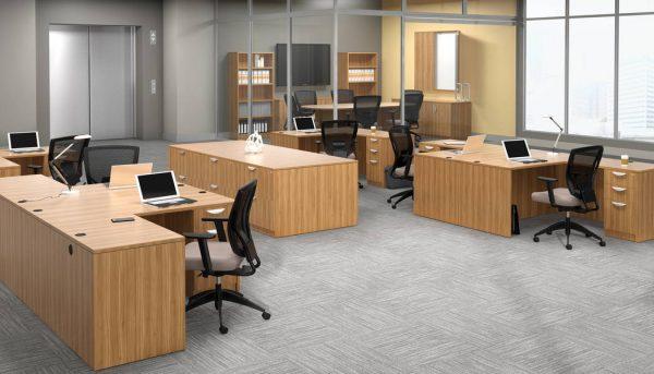 OTG Superior Laminate Modular Casegoods In Stock Alan Desk