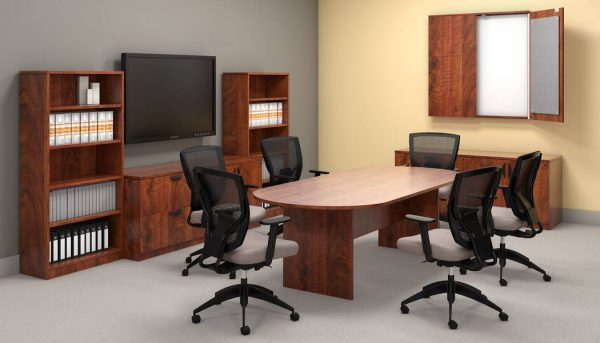 superior laminate racetrack conference table otg alan desk 1