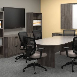 OTG Superior Laminate Conference Table Laminate Racetrack Alan Desk