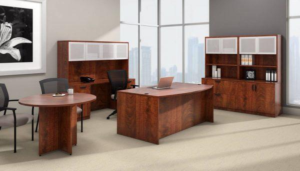 superior laminate round conference table otg alan desk 1