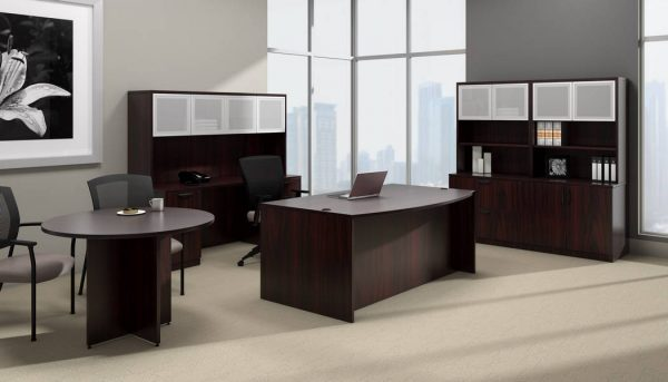 superior laminate round conference table otg alan desk 4