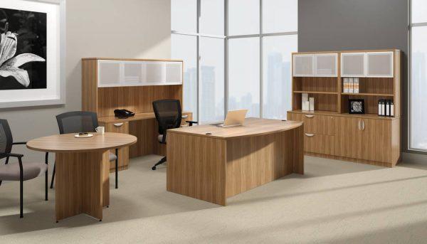 superior laminate round conference table otg alan desk 5