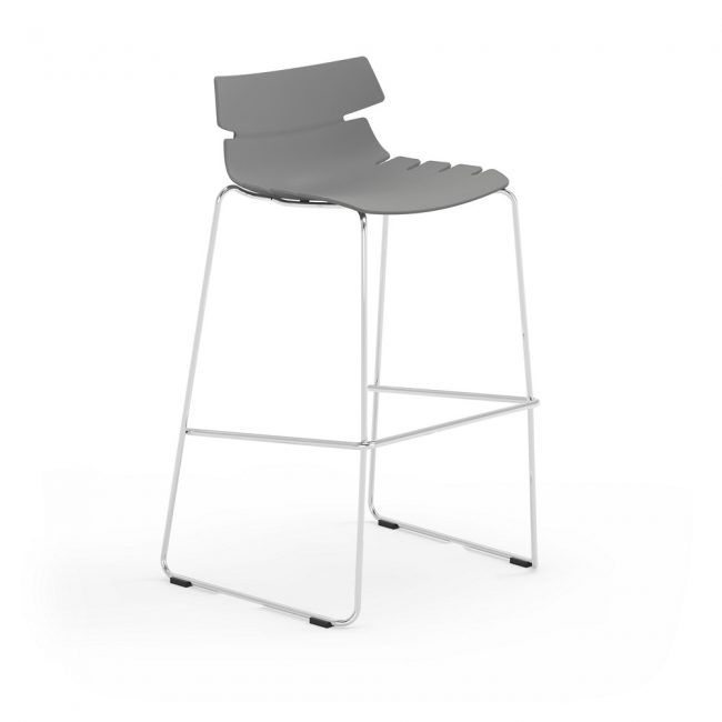 iDesk Tikal Poly Stool Alan Desk