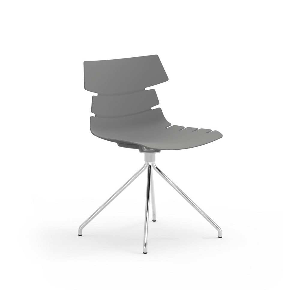 iDesk Tikal Poly Spider Base Side Chair Alan Desk