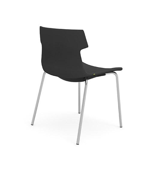 tikal upholstered side chair 4 leg idesk alan desk 2